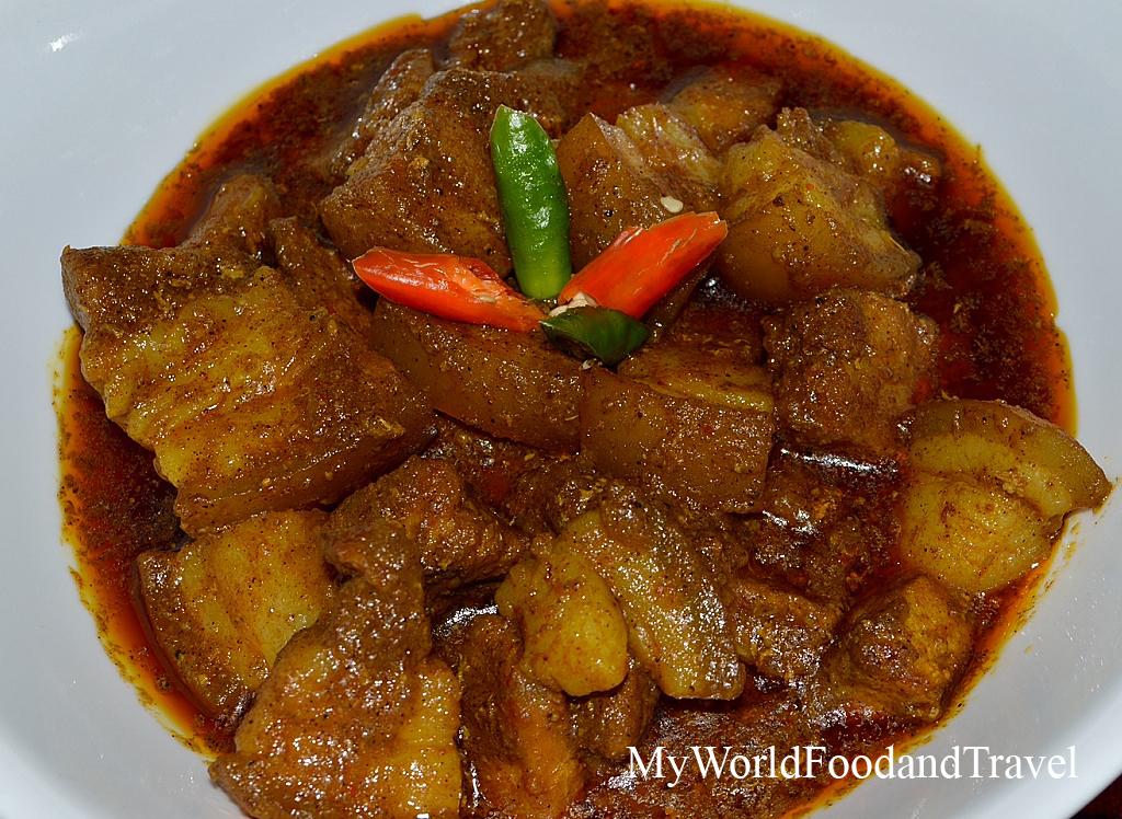 Coorg pork fry recipe