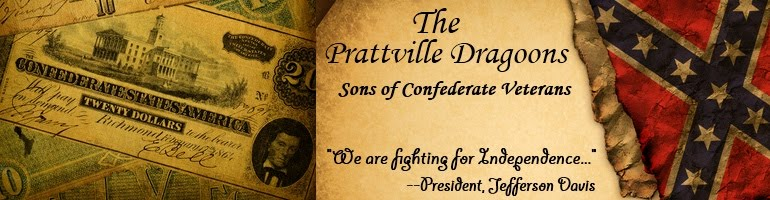 The Prattville Dragoons SCV Camp Blog