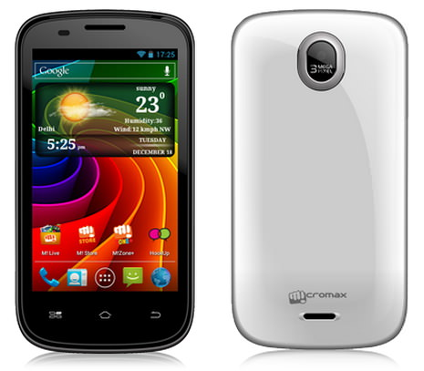 micromax android phone price and features in india