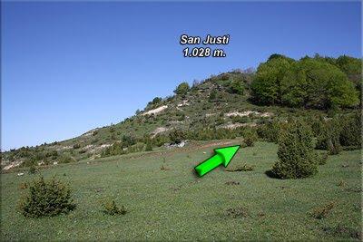 Vista de San Justi desde la explanada