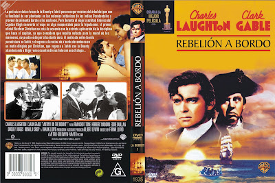Rebelión a bordo | 1935 | Mutiny on the Bounty | Caratula | Dvd Cover