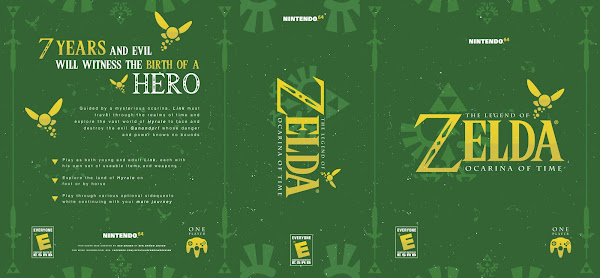 Capa The Legend Of Zelda Ocarina Of Time Nintendo 64