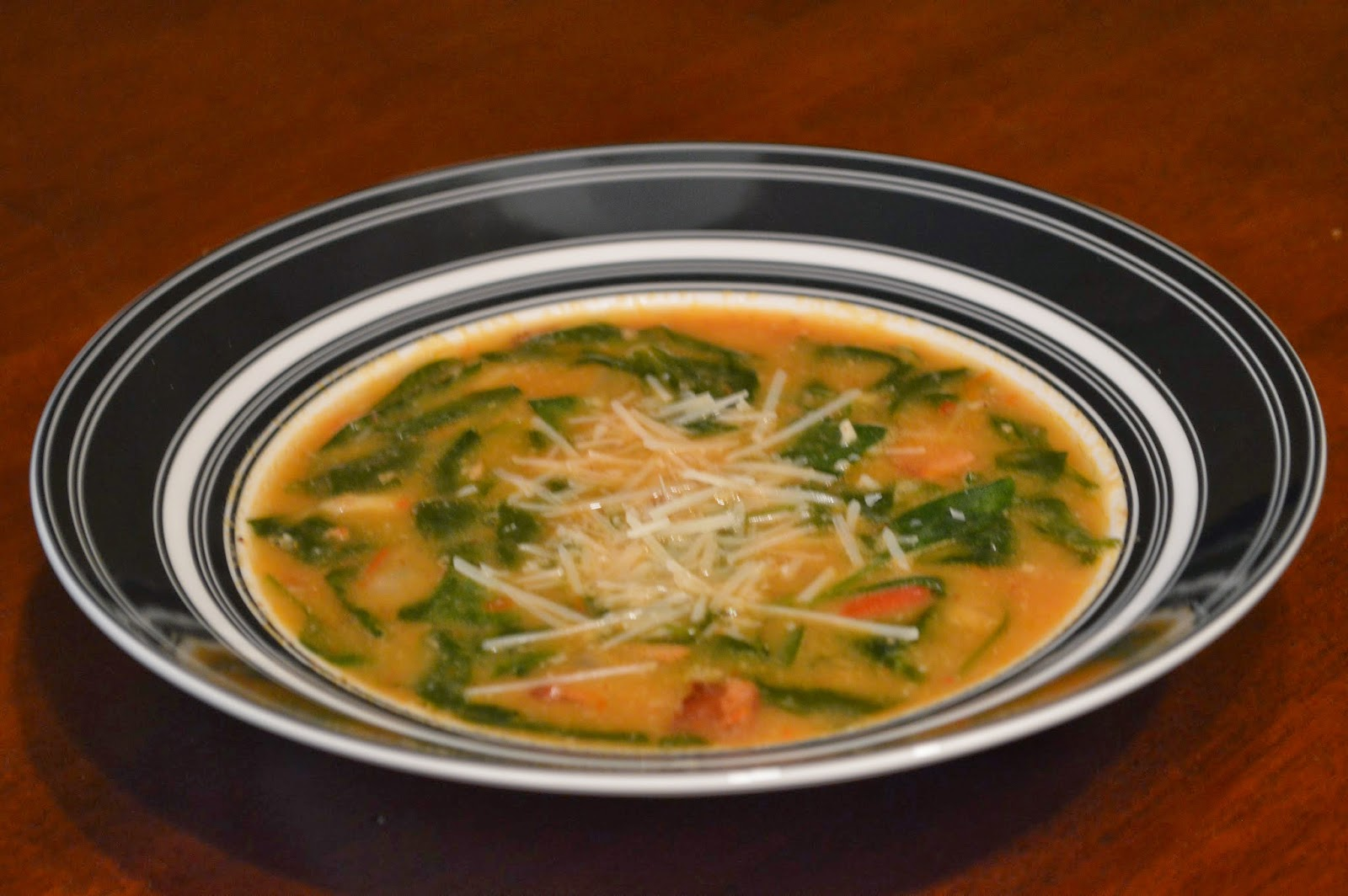 ... Time - From My Kitchen To Yours: White Bean, Spinach and Bacon Soup