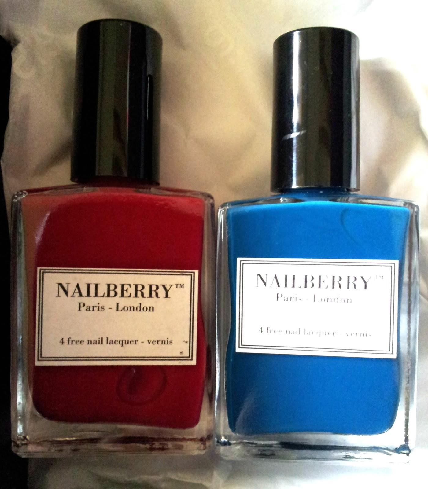 Three Free Nail Polish Brands List: Nailberry // The Latest Nail Polish Brand