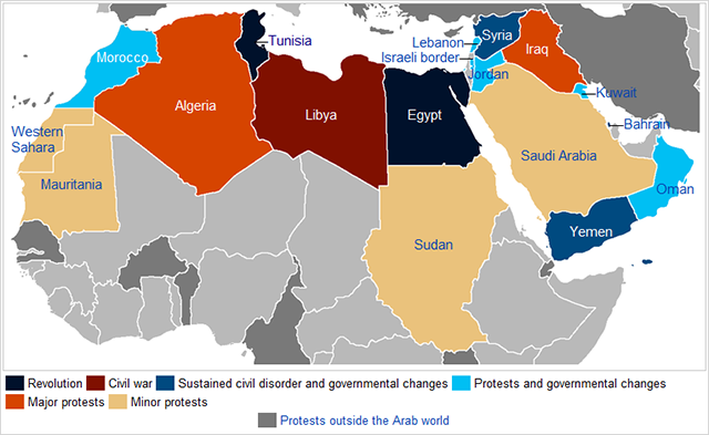 Yemen Fragments Under Uprising Political Geography Now - Where is yemen located