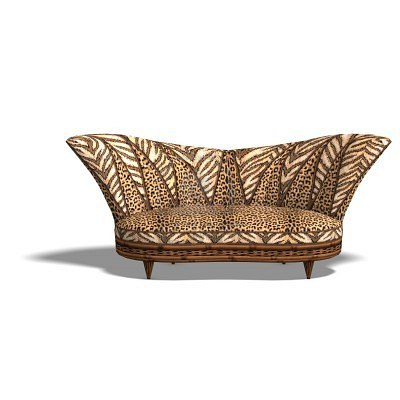 Madame Covet 39 S Style Boutique Leopard Print Sofa