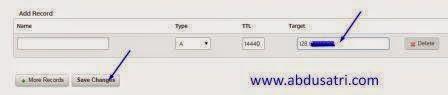 cara hubungkan domain ke panel webuzo