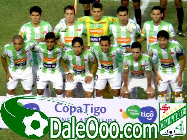 Oriente Petrolero - Equipo 2014-2015 - DaleOoo.com web del Club Oriente Petrolero