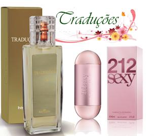 Perfume 212 Sexy Carolina Herrera - Traduções Gold nº 46 Feminina