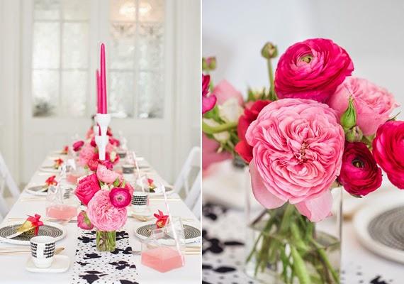 Fiesta de chicas en rosa - mesa personalizada4