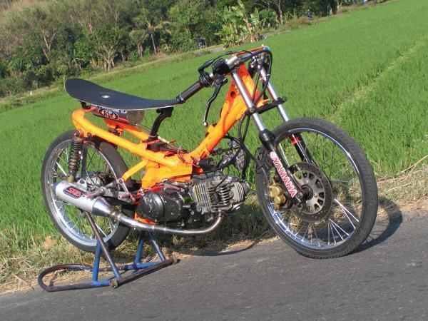 Modifikasi Sepeda Motor Gambar Foto Gambar Modifikasi Sepeda Motorcat