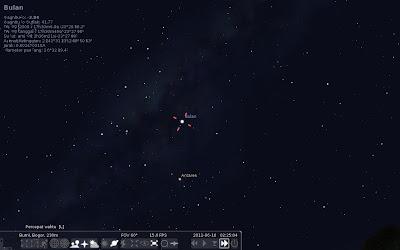 Simulasi gerhana bulan