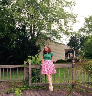 strawberry skirt ginger girl