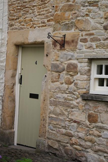 Farrow and Ball Hay front door