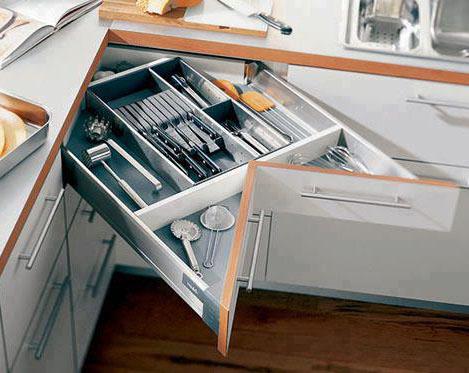 I d e a soluciones para cocinas que hacen esquina - Mueble esquinero cocina ...