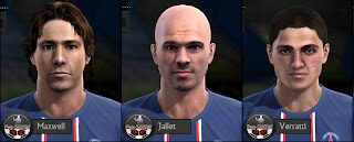 PES 2013 PSG Facepack by Tunizizou