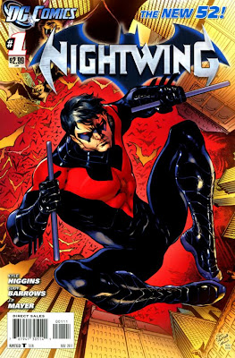 Nightwing Issue #1 Cover Artwork
