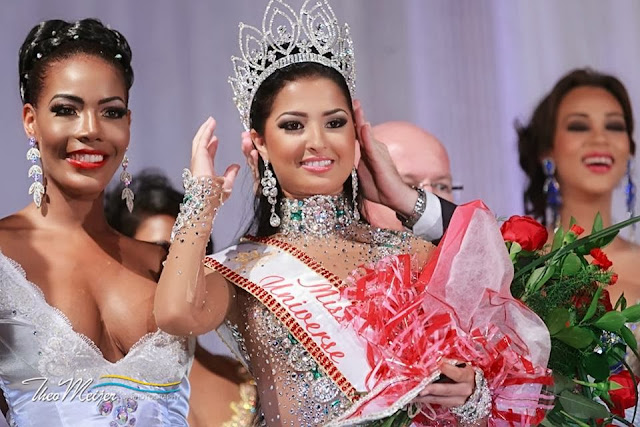 Miss Universe Curacao 2013 winner Eline de Pool