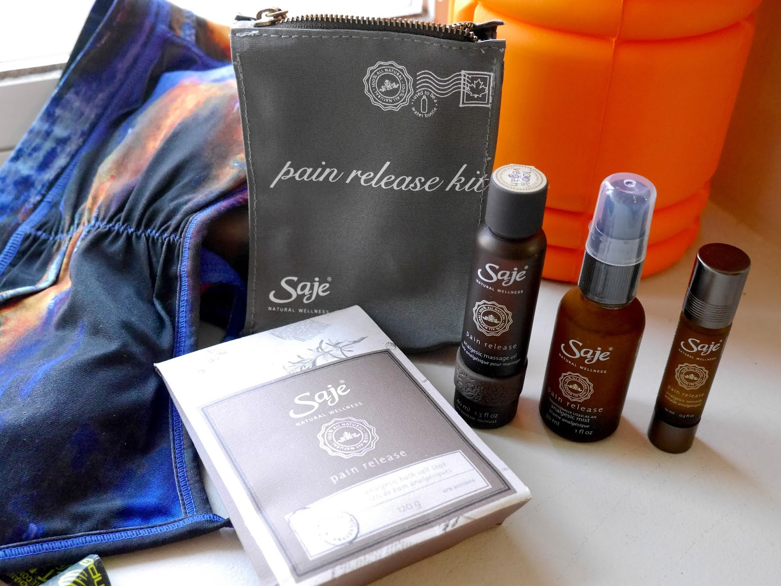 Saje Pain Release oil review