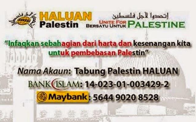 Tabung Palestin HALUAN