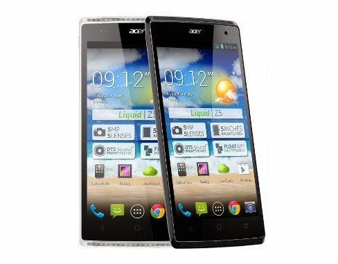 Info Harga dan Spesifikasi Acer Z150 Liquid Z5