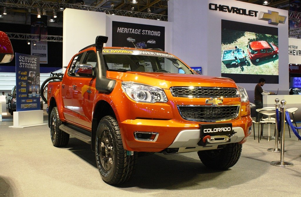 Mias 2015 Chevrolet Adds Off Road Ready Colorado Tracker