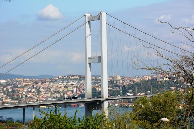 Yildiz Park Istanbul Bosporus Bridge