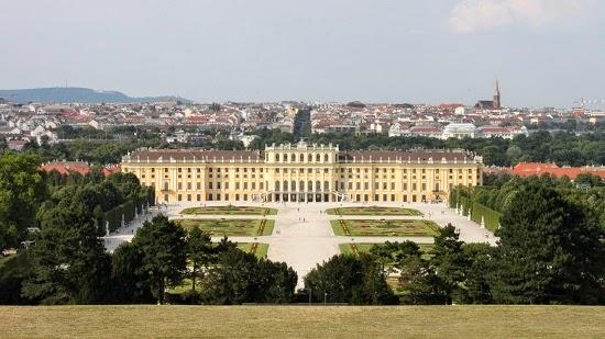 El Schönbrunn desde la glorieta