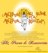 FELIZ PASCUA DE RESURRECCION. Publicado por Paulinas Puerto Rico en 08:18 aleluya