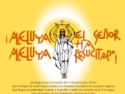 FELIZ PASCUA DE RESURRECCION