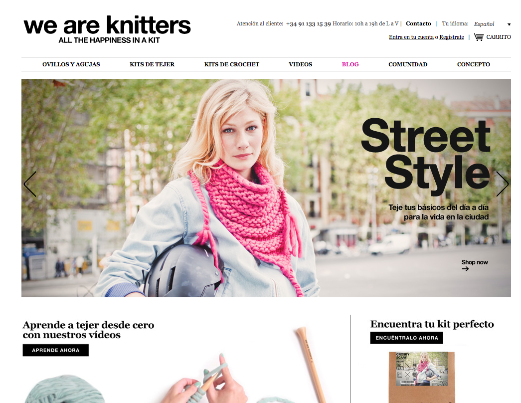 Ww are knitters web