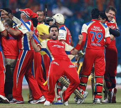 Royal Challengers Bangalore Celebration