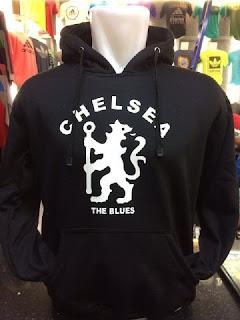 gambar detail jaket hoodie terbaru Jaket hoodie Chelsea The Blues warna hitam terbaru musim 2015/2016 di enkosa sport toko online jaket terpercaya