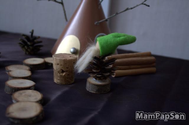 гномик из шишки своими руками