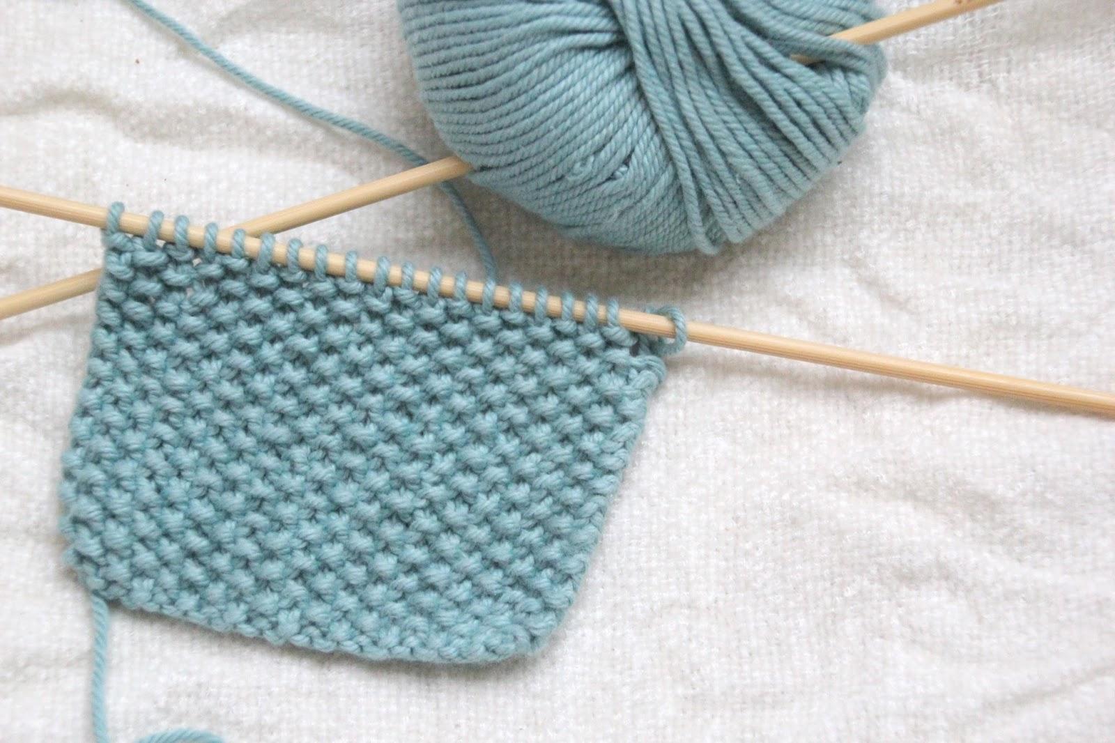 Como aprender a tejer con dos agujas - Tipos puntos dos agujas ...