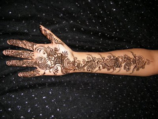 Arabic Henna Mehndi Designs