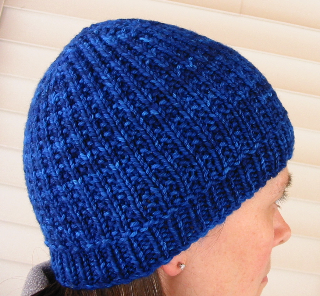 Free Knit Beanie Pattern : Knit Jane Knit: Two New Hat Patterns