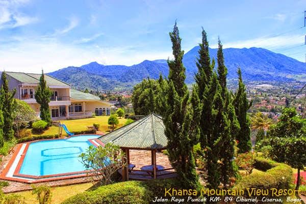 Khansa Mountain View Resort alamat Ciburial, Cisarua Puncak - Bogor