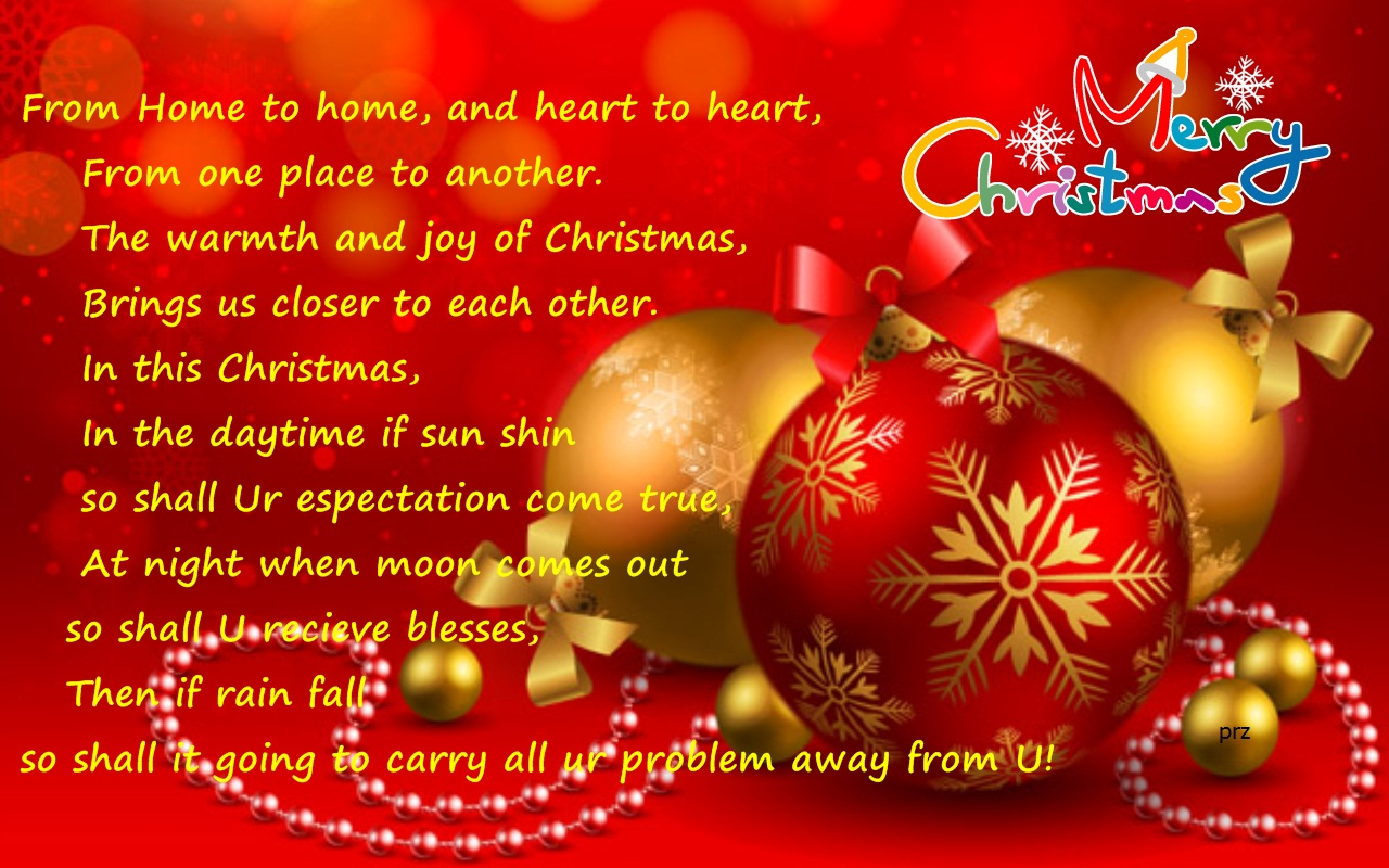 Christmas Greetings For Facebook
