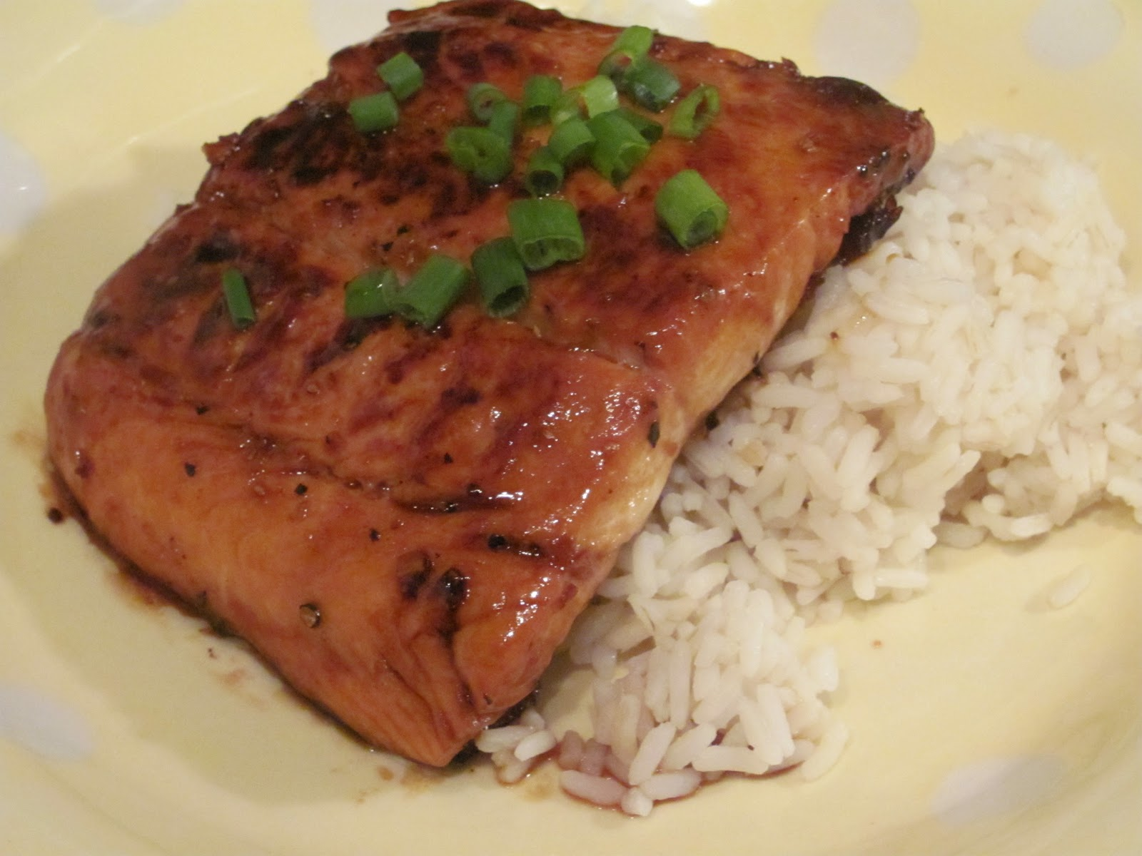 ... salmon with bok choy honey ginger grilled salmon salmon with honey
