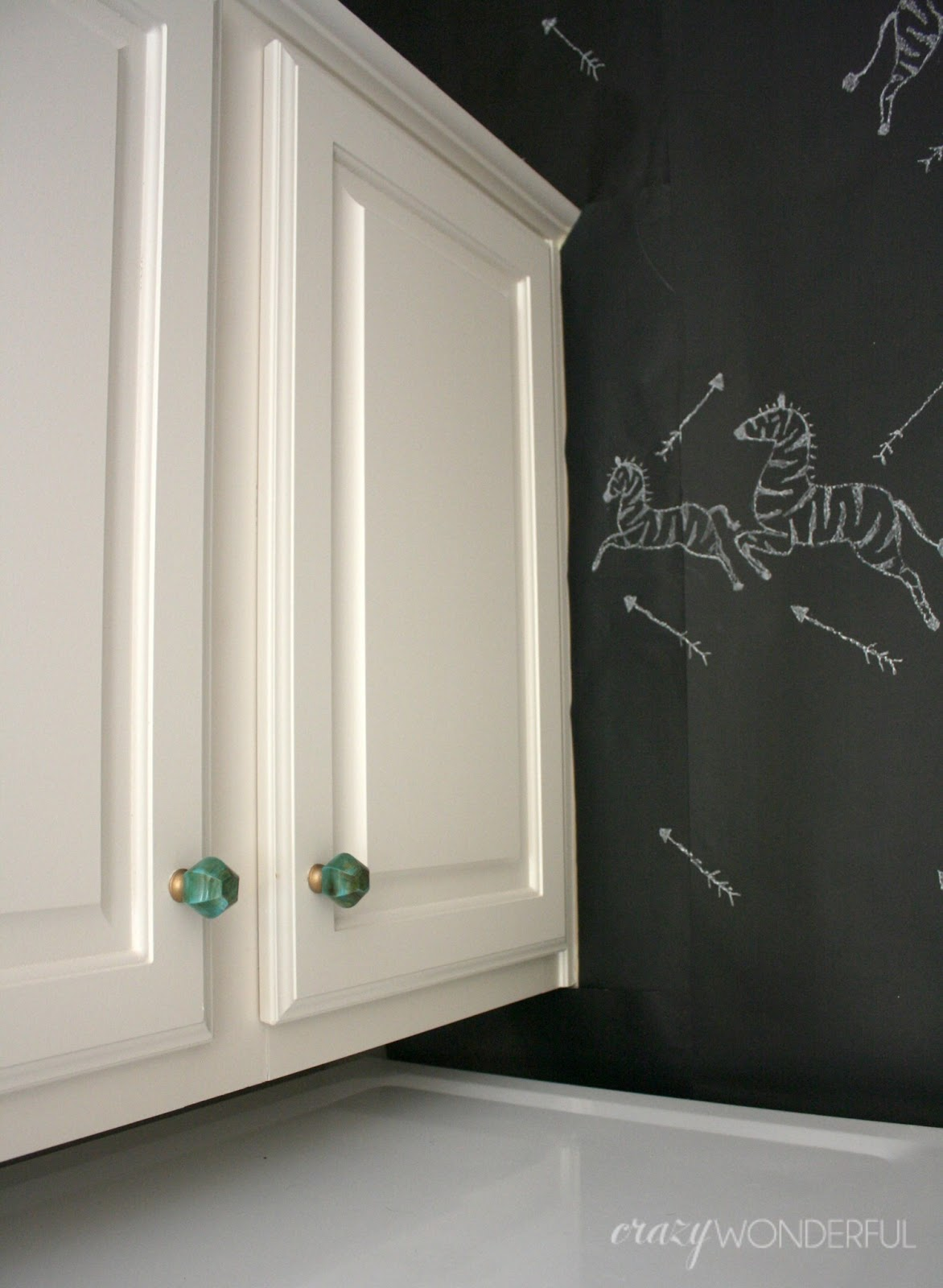 add knobs without drilling holes - Crazy Wonderful