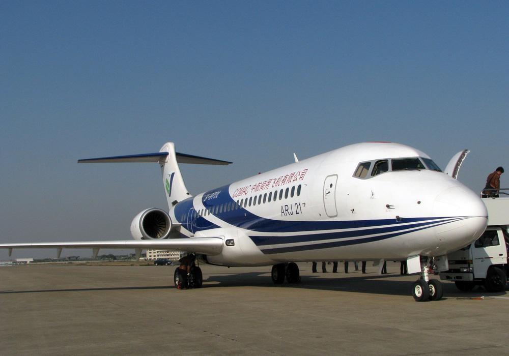 Pesawat ARJ 21-700. ZonaAero