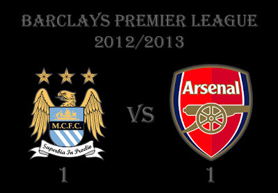 Manchester City v Arsenal Barclays Premier League 2012