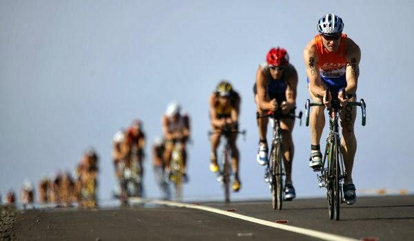 foto ciclismo ironman prueba triatlon