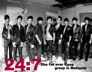 24:7 kpop malaysia, 24:7 group kpop malaysia, gambar, foto