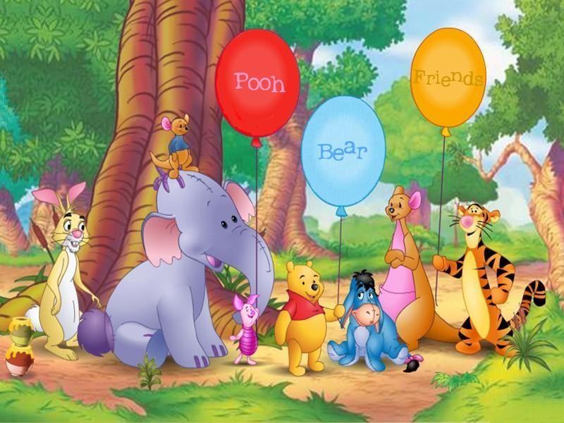 BANCO DE IMÁGENES: 33 imágenes de Winnie Pooh y sus amigos
