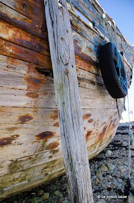 Camaret sur mer - cimetière de bateaux