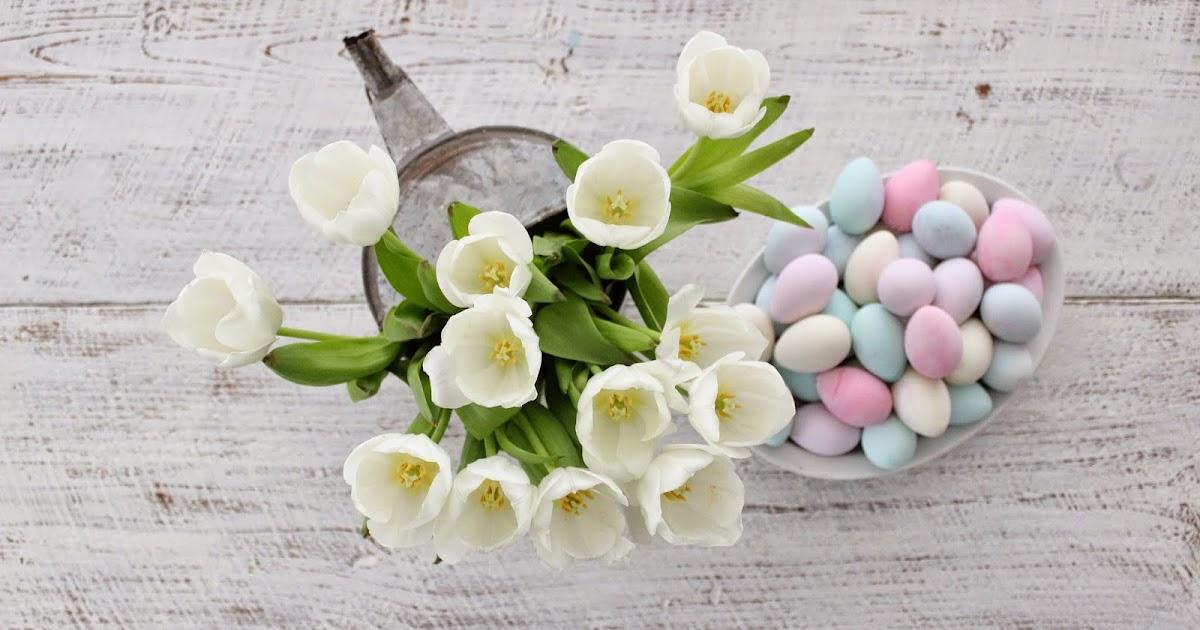 Rustic Farmhouse: Pretty Pastel Easter Eggs