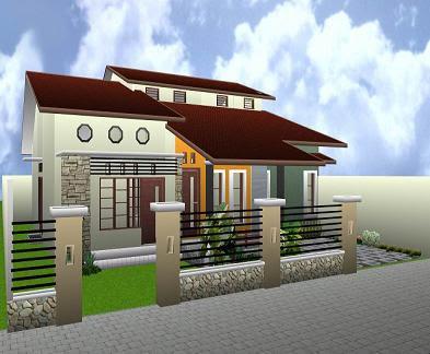 model rumah 2 lantai on Desain Rumah Idaman Minimalis 1 Lantai