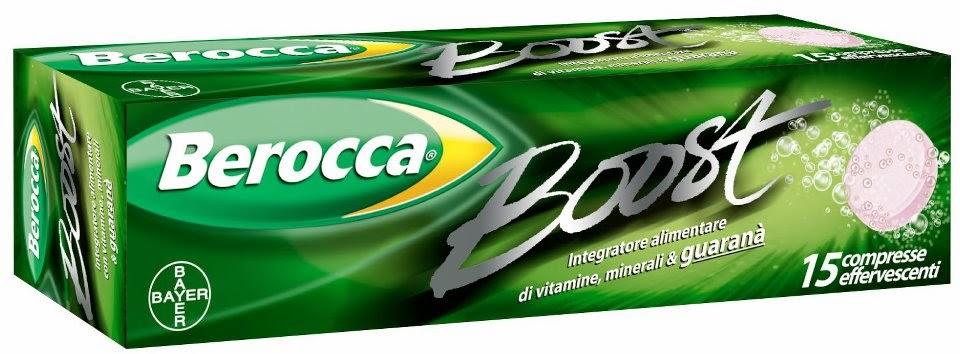 Collaborazione con Berocca Boost Italia